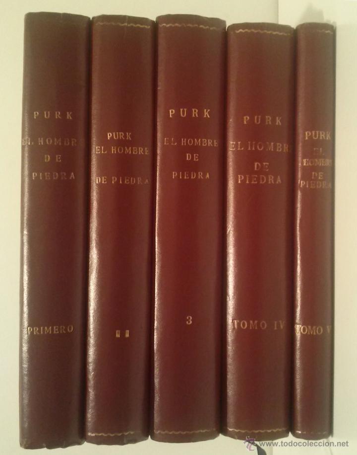 Tebeos: PURK EL HOMBRE DE PIEDRA - COMPLETA: 114 NÚMEROS MAS 4 EXTRAS - AÑOS 1974-1976 - CINCO TOMOS - Foto 3 - 51891539