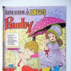 Tebeos: GRAN ALBUM DE JUEGOS PUMBY. Nº 11. VALENCIANA. Lote 51935525