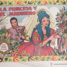 Tebeos: LA PRINCESA Y EL JARDINERO. CUENTOS GRAFICOS CASCABEL. Lote 58297087