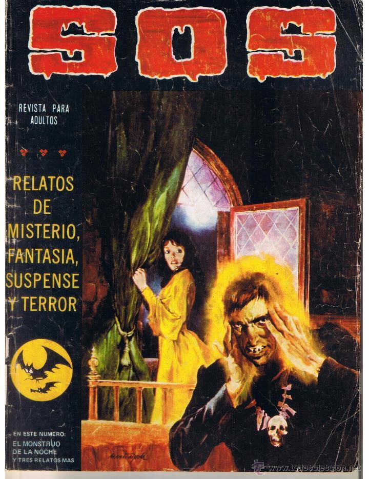 S. O. S. RELATOS DE MISTERIO, FANTASIA, SUSPENSE Y TERROR. Nº 6. II ÉPOCA. VALENCIANA 1980 (ST) (Tebeos y Comics - Valenciana - S.O.S)