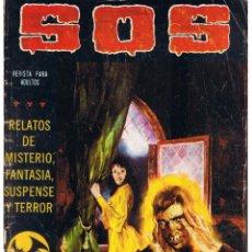 Livros de Banda Desenhada: S. O. S. RELATOS DE MISTERIO, FANTASIA, SUSPENSE Y TERROR. Nº 6. II ÉPOCA. VALENCIANA 1980 (ST). Lote 51956072