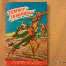 Tebeos: COLECCION COMANDOS - TEMPLE INDOMABLE, POR ALF REGARDIE - Nº 218 - ARGENTINA - 1959. Lote 52008433