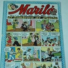 Tebeos: MARILO - Nº 46 - VALENCIANA -- ORIGINAL. Lote 52430611
