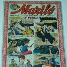 Tebeos: MARILO - Nº 50 - VALENCIANA -- ORIGINAL. Lote 52430619