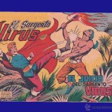 Tebeos: EL SARGENTO VIRUS - EL JUICIO DEL SARGENTO VIRUS - EDITORIAL VALENCIANA - AÑO 1962 - Nº 3. Lote 52473812