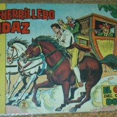Tebeos: EL GUERRILLERO AUDAZ Nº 5 - ORIGINAL VALENCIANA 1962- LEER TODO. Lote 52487344