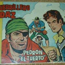 Tebeos: EL GUERRILLERO AUDAZ Nº 7 - ORIGINAL VALENCIANA 1962-REBAJADO- LEER. Lote 144327368