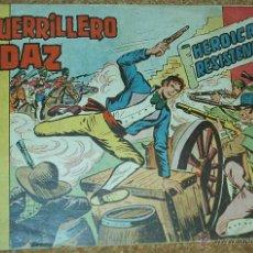 Tebeos: EL GUERRILLERO AUDAZ Nº 9 - ORIGINAL VALENCIANA 1962. Lote 52487395