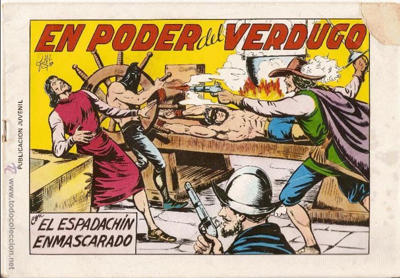 EL ESPADACHIN ENMASCARADO - 2ª ED - Nº 8 - EN PODER DEL VERDUGO - NO FACSIMIL!!! (Tebeos y Comics - Valenciana - Espadachín Enmascarado)