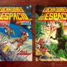 Tebeos: LOTE LUCHADORES DEL ESPACIO, LA SAGA DE LOS AZNAR, Nº 58, Y Nº 62, EDITORIAL VALENCIANA. Lote 52696855
