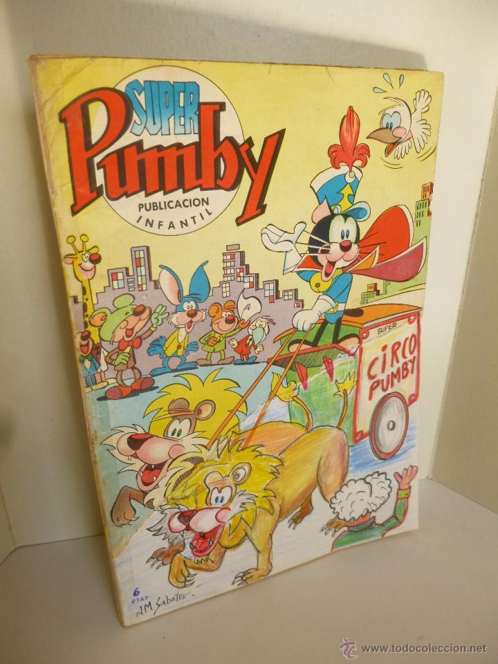 SUPER PUMBY 30. PUBLICACIÓN INFANTIL. EDITORIAL VALENCIANA, 1966 (Tebeos y Comics - Valenciana - Pumby)