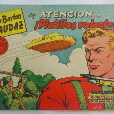 Tebeos: FREDY BARTON EL AUDAZ, Nº 1, ATENCION PLATILLOS VOLANTES, AÑO 1961. Lote 155499520