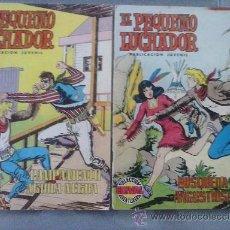 Tebeos: LOTE 2 TEBEOS EL PEQUEÑO LUCHADOR Nº 38 Y 47. SELECCIÓN EDIVAL AVENTURERA.. Lote 52848890