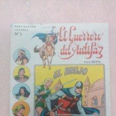 Livros de Banda Desenhada: EL GUERRERO DEL ANTIFAZ NÚMERO 1 SERIE STAR PAPAGAYO-VALENCIANA AÑO 1973. Lote 52938621