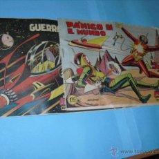 Tebeos: 2 TEBEOS DE HAZAÑAS DE LA JUVENTUD AUDAZ,1959, BUEN ESTADO,. Lote 52943108