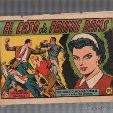 Tebeos: ROBERTO ALCAZAR Y PEDRIN. EL CASO DE FANNIE DAMS. Nº 414. EDITORIAL VALENCIANA. Lote 53077827