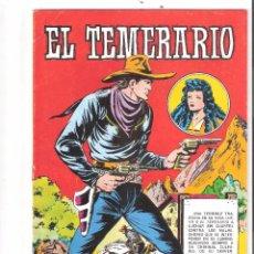 Tebeos: EL TEMERARIO DEL 1 AL 10 COMPLETA-EDIVAL. Lote 53104616
