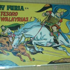 Tebeos: REY FURIA Nº 6 - VALENCIANA 1961 ORIGINAL - MUY BUEN ESTADO. Lote 53142432