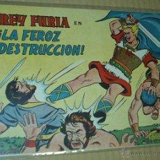 Tebeos: REY FURIA Nº 8 - VALENCIANA 1961 ORIGINAL - MUY BUEN ESTADO. Lote 53142454