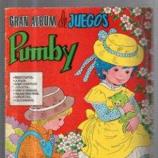 Tebeos: GRAN ALBUM DE JUEGOS. PUMBY. Nº 35.EDITORIAL VALENCIANA. Lote 53310597