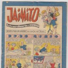 Tebeos: JAIMITO EXTRAORDINARIO DE NAVIDAD PARA 1963.. Lote 53474947