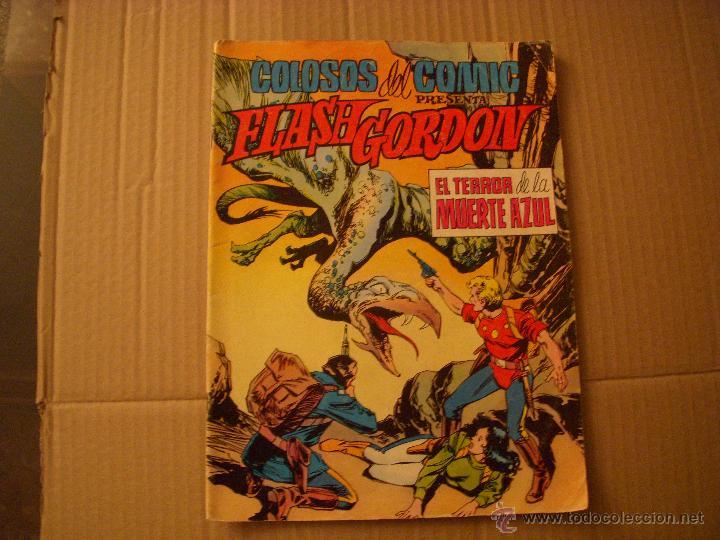 COLOSOS DEL COMIC Nº 6, CON FLASH GORDON, EDITORIAL VALENCINA (Tebeos y Comics - Valenciana - Colosos del Comic)