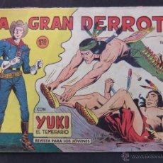 Tebeos: YUKI EL TEMERARIO Nº23 EDITORIAL VALENCIANA. Lote 53518438