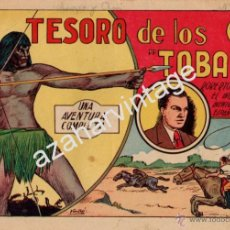 Tebeos: ROBERTO ALCAZAR Y PEDRIN Nº 4. EL TESORO DE LOS TOBAS. ORIGINAL, 1958. Lote 53526593