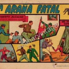 Tebeos: ROBERTO ALCAZAR Y PEDRIN , Nº 54 , LA ARAÑA FATAL , 1,75 CENTS. , ORIGINAL. Lote 53526695