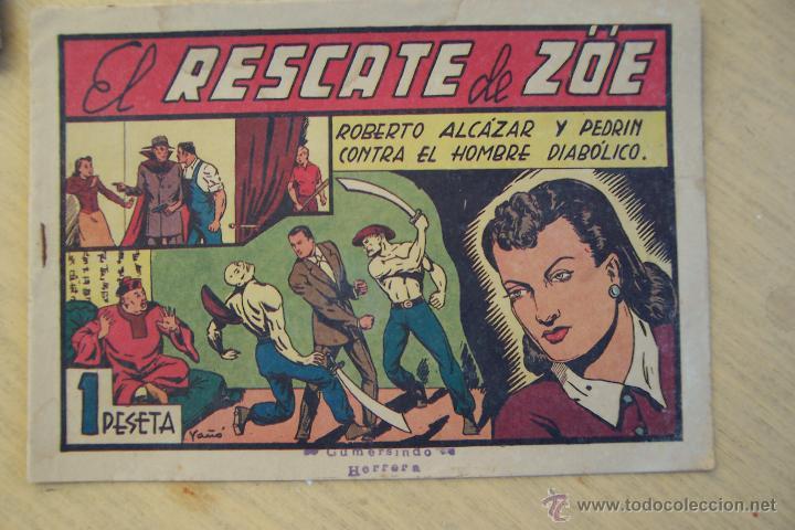 Tebeos: Valenciana, lote 26 nº roberto alcázar contra el hombre diabólico - Foto 21 - 53541884