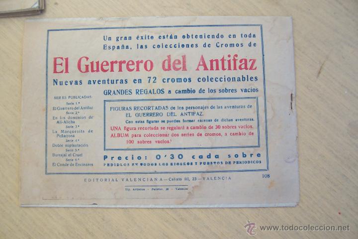 Tebeos: Valenciana, lote 26 nº roberto alcázar contra el hombre diabólico - Foto 24 - 53541884