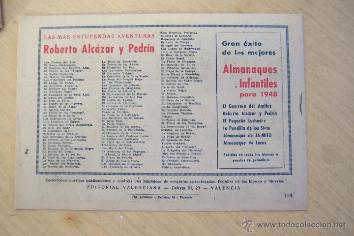 Tebeos: Valenciana, lote 26 nº roberto alcázar contra el hombre diabólico - Foto 36 - 53541884