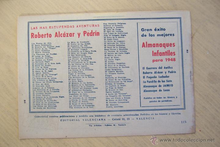 Tebeos: Valenciana, lote 26 nº roberto alcázar contra el hombre diabólico - Foto 38 - 53541884