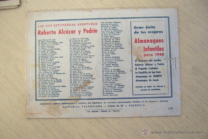 Tebeos: Valenciana, lote 26 nº roberto alcázar contra el hombre diabólico - Foto 40 - 53541884