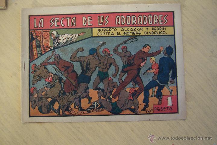 Tebeos: Valenciana, lote 26 nº roberto alcázar contra el hombre diabólico - Foto 41 - 53541884