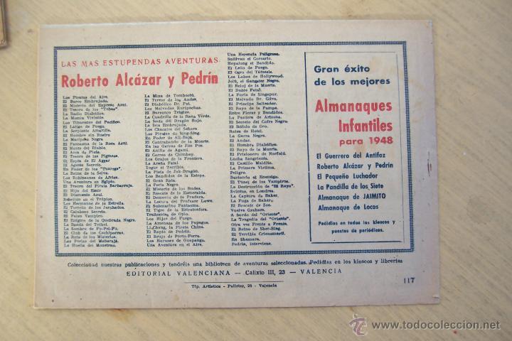 Tebeos: Valenciana, lote 26 nº roberto alcázar contra el hombre diabólico - Foto 42 - 53541884