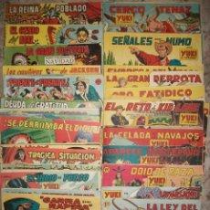 Tebeos: YUKI (EL TEMERARIO) (VALENCIANA) (COMPLETA 112 NUMEROS ORIGINAL). Lote 53582419