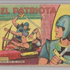 Tebeos: EL PATRIOTA. VALENCIANA 1960. COLECCIÓN COMPLETA 18 EJEMPLARES.. Lote 53615326