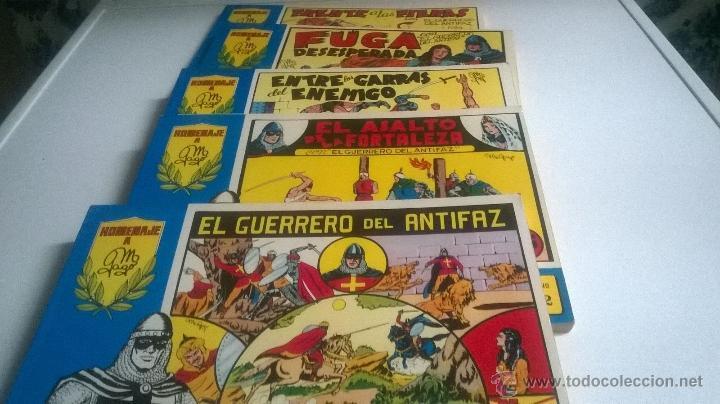 EL GUERRERO DEL ANTIFAZ HOMENAJE A M. GAGO - COLECCION COMPLETA 98 TOMOS ENCUADERNADOS AÑO 1981 (Tebeos y Comics - Valenciana - Guerrero del Antifaz)