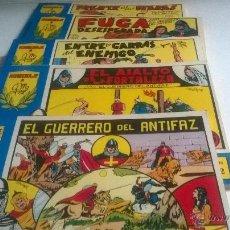 Tebeos: EL GUERRERO DEL ANTIFAZ HOMENAJE A M. GAGO - COLECCION COMPLETA 98 TOMOS ENCUADERNADOS AÑO 1981. Lote 53662969