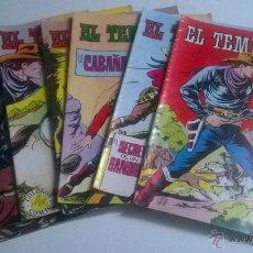 Tebeos: EL TEMERARIO Nº 1 AL 8 AÑO 1981. Lote 53663231