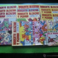Tebeos: EDIVAL S.A. ROBERTO ALCAZAR Y PEDRIN 1976.2ª EPOCA.NºS.EXTRAS EXTRA Nº 1,2,3,4,5,7,9,11,..PDELUXE.. Lote 53737013
