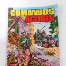 Tebeos: COMANDOS EN ACCION Nº 15. EDITORIAL VALENCIANA. CERCO INFERNAL. TDKC14. Lote 53883454