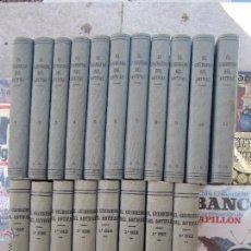 Tebeos: EL GUERRERO DEL ANTIFAZ COMPLETA , ENCUADERNADA EN 19 TOMOS , ORIGINAL , VALENCIANA. Lote 53953620
