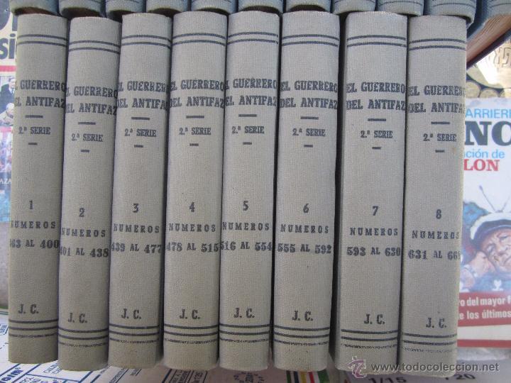 Tebeos: el guerrero del antifaz completa , encuadernada en 19 tomos , original , valenciana - Foto 8 - 53953620
