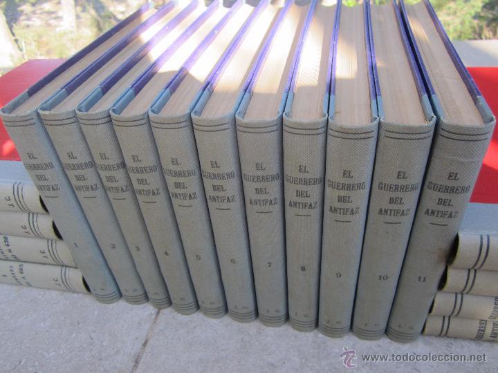 Tebeos: el guerrero del antifaz completa , encuadernada en 19 tomos , original , valenciana - Foto 10 - 53953620