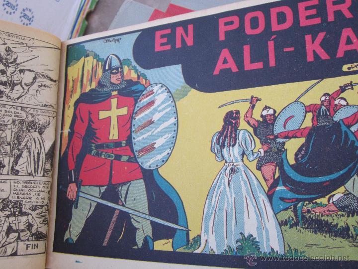 Tebeos: el guerrero del antifaz completa , encuadernada en 19 tomos , original , valenciana - Foto 14 - 53953620