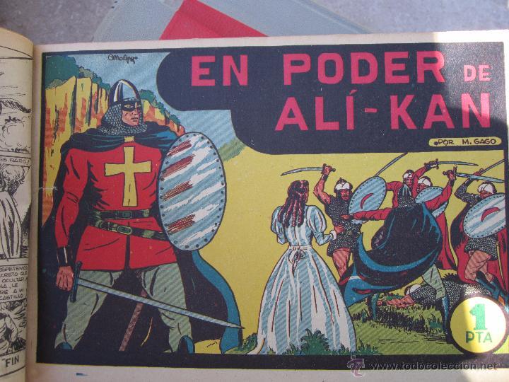 Tebeos: el guerrero del antifaz completa , encuadernada en 19 tomos , original , valenciana - Foto 15 - 53953620