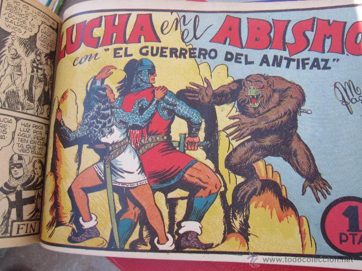 Tebeos: el guerrero del antifaz completa , encuadernada en 19 tomos , original , valenciana - Foto 16 - 53953620