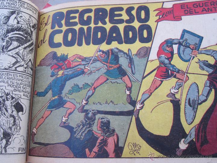 Tebeos: el guerrero del antifaz completa , encuadernada en 19 tomos , original , valenciana - Foto 18 - 53953620